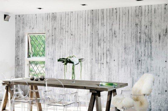 Carta da parati dal design moderno per rinnovare casa for Idee imbiancatura soggiorno