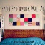 patchwork decorazione muraria