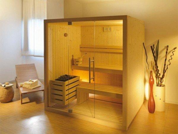 Sauna domestica tanti benefici e poco ingombro for Costo della costruzione di una sauna domestica
