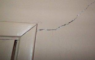 crepe nei muri di casa