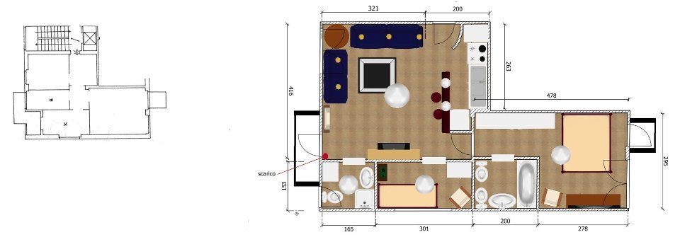 progettazione ristrutturazione appartamento completo roma