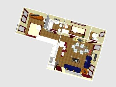 ristrutturazione appartamento completo roma vista aerea