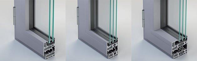 infissi in alluminio