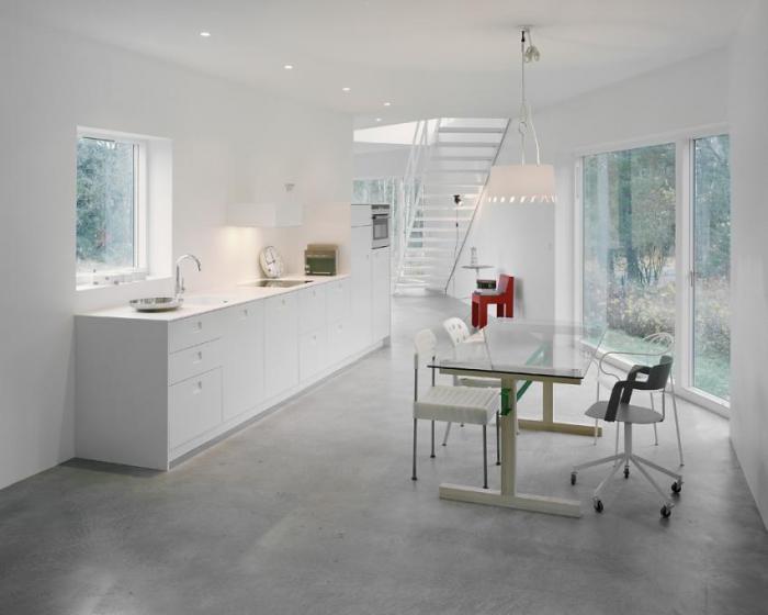 pavimenti per cucina in cemento