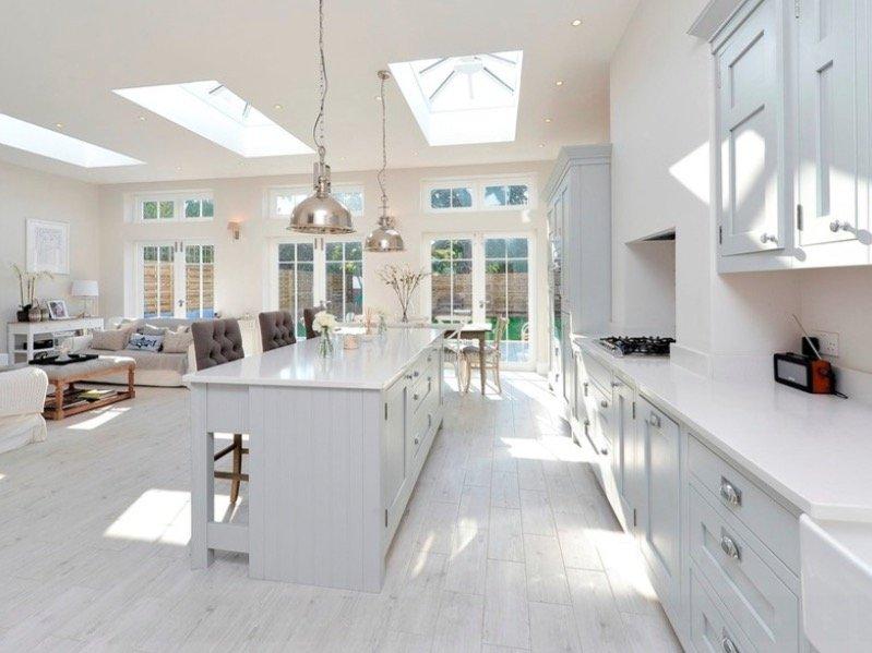 pavimenti per cucina in legno lamellare