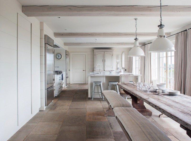 pavimento per cucina in pietra