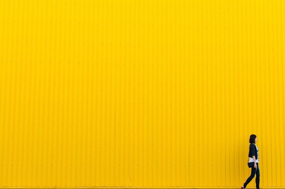 imbiancare casa giallo