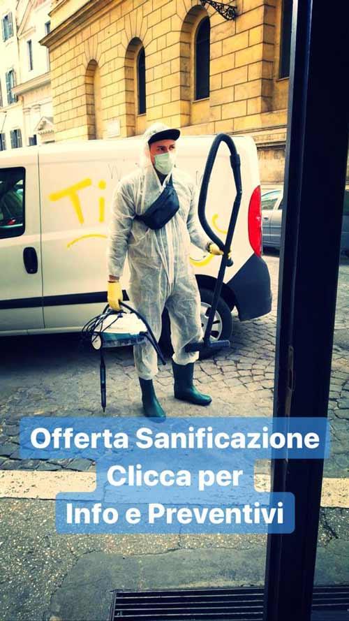 offerta sanificazione ambienti
