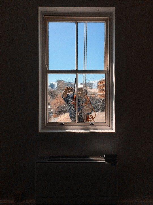 Pulizia delle finestre